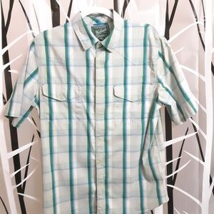 Woolrich Short Sleeve Button Up Shirt
